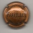 Capsule du champagne  RUINART  teinte marron    parfait état