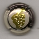 Capsule du champagne  Générique  grappe relief sur fond or   parfait état