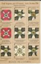 miniature Cpa Neuf drapeaux pris à l'ennemi d'août à octobre 1914 , guerre 1914