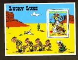 miniature France bloc feuillet BF  55 lucky luke 2003  neuf ** luxe MNH sin charnela faciale 0.55