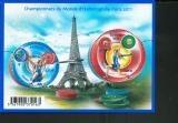 miniature France 4598 4599F Haltérophilie 2011 neuf **TB MNH sin charnela prix de la poste 1.49