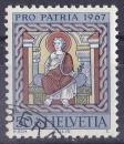 SUISSE 1967 OBLITERE N° 790