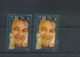 miniature France 2902 coluche variété visage jaune et normal neuf ** TB MNH