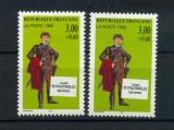 miniature France 3027 variété personnage rouletabille impression décalée neuf ** Tb MNH