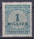 miniature ALLEMAGNE REICH 1923 neuf* charnière N° 295