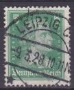 miniature ALLEMAGNE REICH 1926 oblitéré N° 380