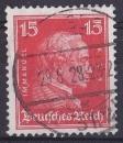miniature ALLEMAGNE REICH 1926 oblitéré N° 383