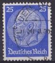 miniature ALLEMAGNE REICH 1933 oblitéré N° 493