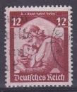 miniature ALLEMAGNE REICH 1935 oblitéré N° 526