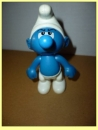 miniature Figurine Schtroumph yeux en l'air / Mc Donalds / 2002
