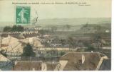 miniature Cpa 52 Bourbonne-Les-Bains , vue prise du château  , Serqueux au fond