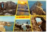 miniature Carte 44 , multivues , la grande côte entre Batz sur mer et le Croisic