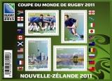 miniature France 4576 4579 F Rugby coupe du monde neuf **TB MNH sin charnela prix de la poste 3.56