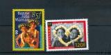 miniature Polynésie 586 587 1999 bonne fête maman neuf ** TB MNH SIN CHARNELA prix de la poste 1.72