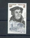 miniature Polynésie 208 1983 luther neuf **TB MNH sin charnela faciale 0.8