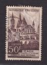 miniature France 1951   Y& T n° 917 Abbaye aux hommes de Caen