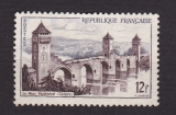 miniature France 1955  Y& T n° 1039 Pont Valentré à Cahors