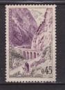 miniature France 1960  Y& T n° 1237 Gorges de Kerrata Algerie