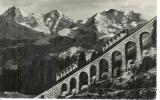 miniature Suisse , Mürrenbahn ,, chemin de fer alpin Lauterbrunnen Murren