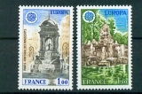 miniature France 2008 2009 Europa monuments  1978 neufs ** TB MNH cote 2.25