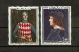 miniature Monaco 734 735 1967 1/4 de cote Tableau des Princes neuf ** TB MNH sin charnela cote 2