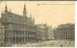 miniature cp Bruxelles - Belgique , la grand'place - Maison du roi