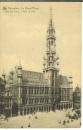 miniature cp Bruxelles - Belgique , la grand'place - l'hôtel de ville