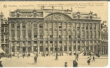 miniature cp Bruxelles - Belgique , la grand'place - maisons de la bourse
