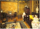 miniature cp Bruxelles - Belgique , exposition - 1901-1909 le pavillon chinois , le grand salon