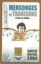 Télécarte - Phone card - F 1324 - 05/04 - Gem 2 - 25 u - Mensonges & trahisons 1 - Cinéma .