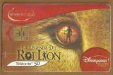 Télécarte - Phone card - F 1335 A - 07/04 - Gem 2 - 50 u - Disney le Roi Lion.