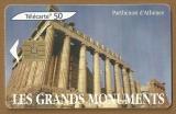 Télécarte - Phone card - F 1344 - 07/05 - Gem 1 - 50 u - Les grands monuments Athènes .