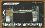 Télécarte - Phone card - F 1345 - 07/05 - Gem 1 - 50 u - Les grands monuments Londres .