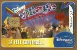 Télécarte - Phone card - F 1298 - 08/03 - Gem 2 - 50 u - Disneyland - Village .
