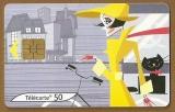 Télécarte - Phone card - F 1306 A - 11/03 - Gem 2 - 50 u - Les vélos 3.