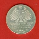 miniature RFA -  5 Mark - German Archeological Institute -  Argent - 1979