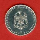 miniature RFA -  5 Mark - Einrich Von Kleist - Argent - 1977
