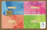 Télécarte - Phone card - F 1269 - 02/03 - Gem 2 - 50 u - Assedic 2 - Partie verte .