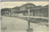 miniature cpa  55 Verdun , la gare
