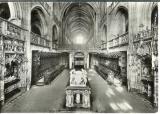 miniature cpsm 01 Bourg en Bresse , l'église de Brou - le choeur , la nef et le tombeau