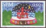 miniature Saint Pierre et Miquelon 828 Noel  neuf ** TB MNH SIN charnela prix de la poste 0.5