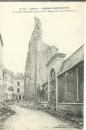 miniature cpa 62 Arras ,  ww1 , Reste de la Tour de l'église St Jean Baptiste
