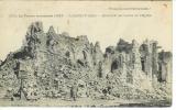 miniature cpa 60 Lassigny , ww1 , ruines de l'église , voyagée 1917