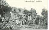 miniature cpa 80 Montdidier , ww1 , le collège Jeanne d'arc , soldats