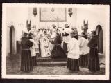 miniature France Carte Postale  Cpsm Rennes Noviciat Franciscain La Profession non circulé