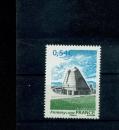 France 4087 Eglise de Firminy de Le Corbusier neuf ** luxe MNH sin charnela prix de la poste 0.54