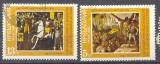 miniature Bulgarie 1985 YT 2967-2968 Obl 800 ans liberation de la Bulgarie