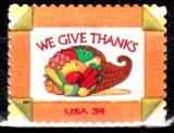 miniature  USA 3231 Thanksgiving