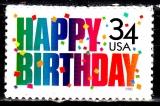 miniature  USA 3257 Joyeux anniversaire