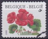 miniature BELGIQUE 1999 OBLITERE N° 2875 Fleurs